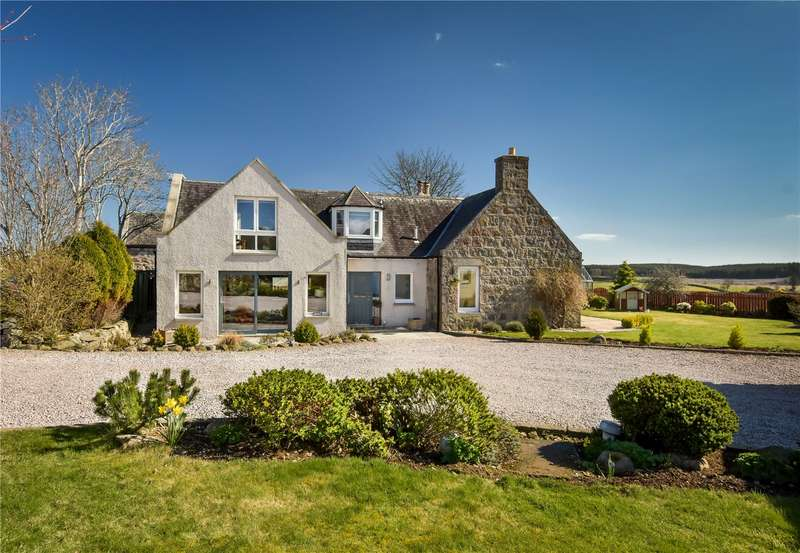 4 Bedrooms Detached House for sale in Pinaret the Farmhouse, Burnside of Carnie, Skene, Westhill, Aberdeenshire, AB32