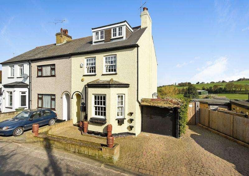 3 Bedrooms Terraced House for sale in Swanley Village Road, Swanley Village