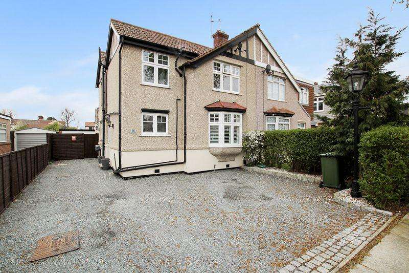4 Bedrooms Semi Detached House for sale in Nursery Avenue, Bexleyheath