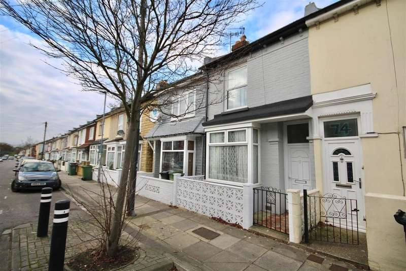 3 Bedrooms Terraced House for sale in Jervis Road, Portsmouth