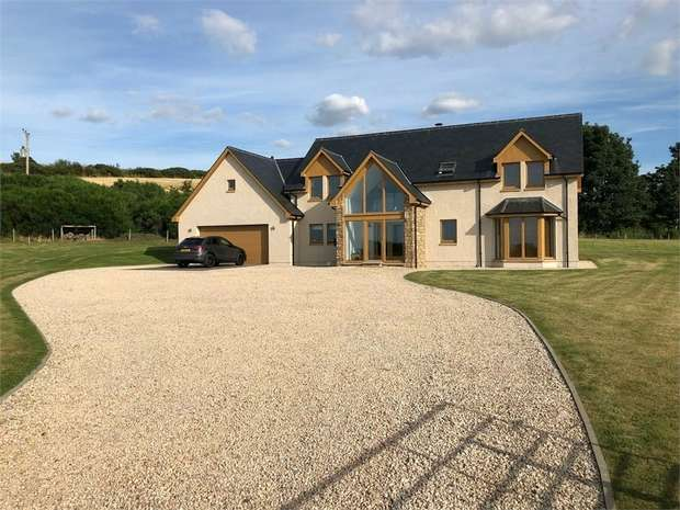 4 Bedrooms Detached House for sale in The Rowans, Drybridge, Buckie, Moray