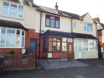 4 Bedrooms Terraced House for sale in Bodnant Avenue, Evington, Leicester, Leicestershire