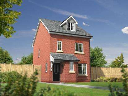 4 Bedrooms Detached House for sale in Jenner, Heathfields, Off Stone Cross Lane North, Lowton, Warrington
