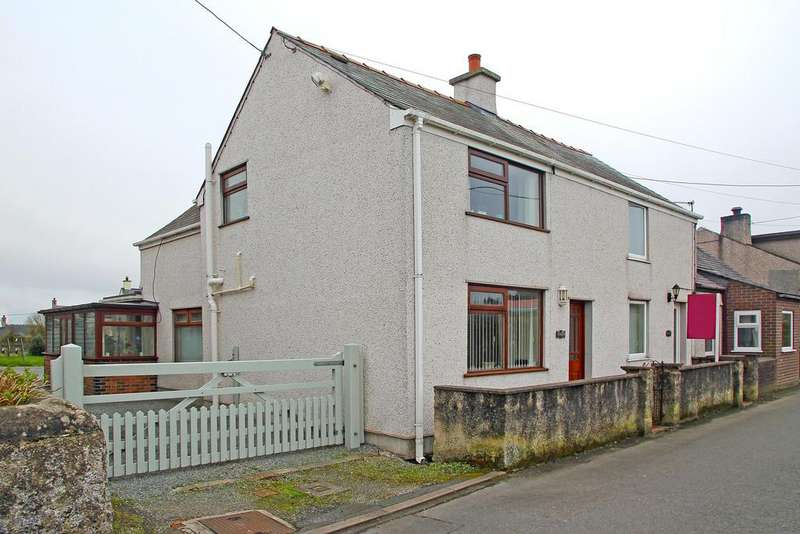 2 Bedrooms End Of Terrace House for sale in David Street, Malltraeth, North Wales