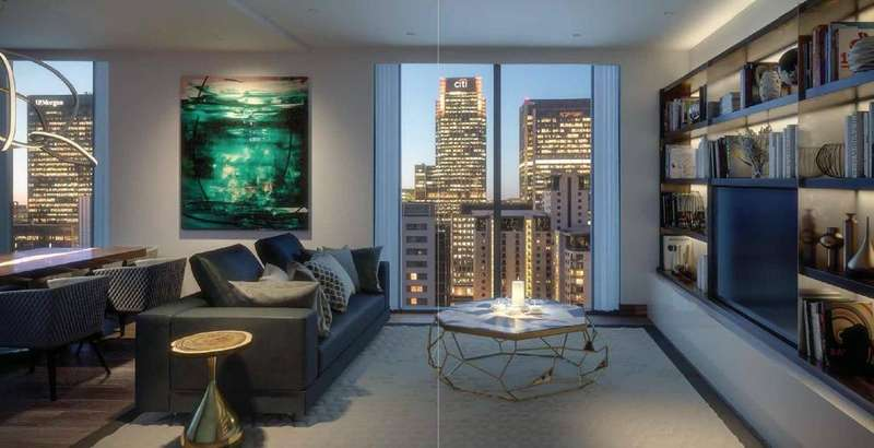 3 Bedrooms Apartment Flat for sale in Maine Tower, London, E14