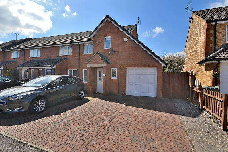 3 Bedrooms End Of Terrace House for sale in Byford Way, Leighton Buzzard