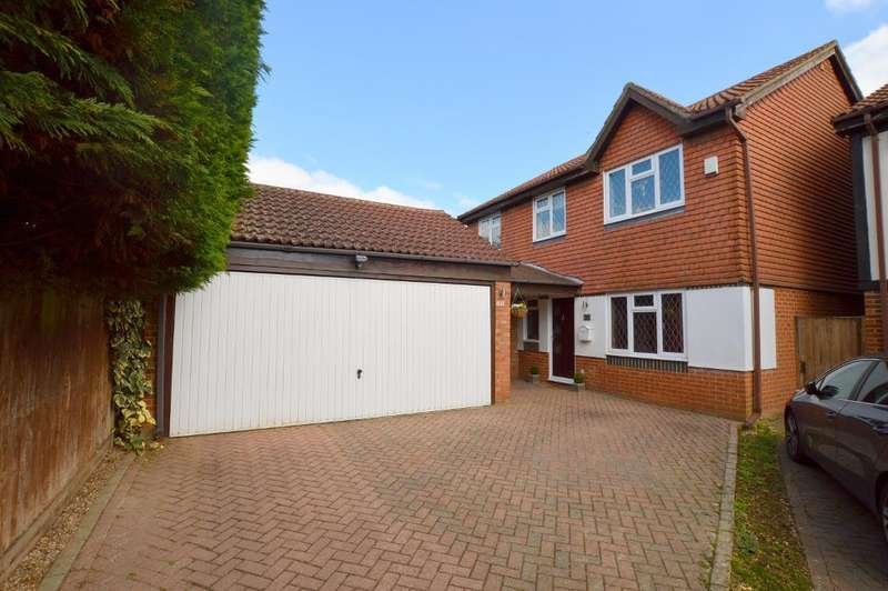 4 Bedrooms Detached House for sale in The Magpies, Bushmead, Luton, Bedfordshire, LU2 7XT