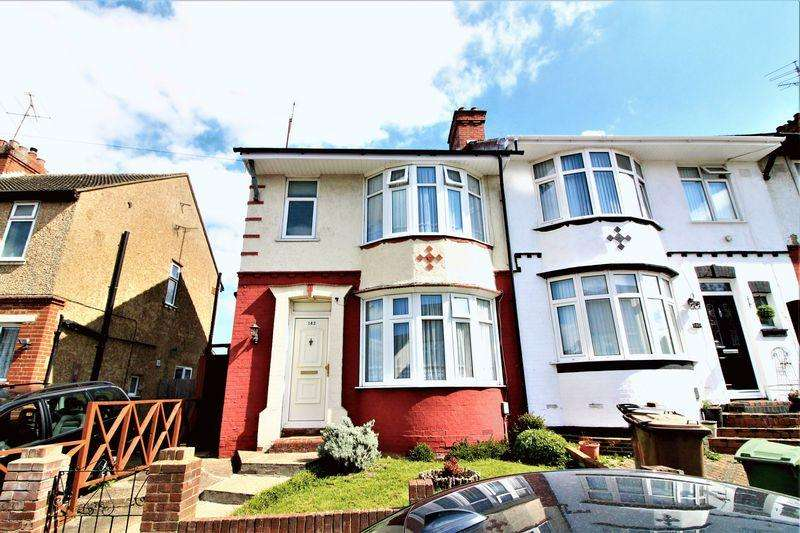 3 Bedrooms End Of Terrace House for sale in Three Bedroom End Of Terrace On Chester Avenue, Luton