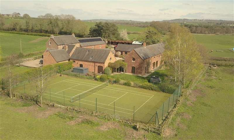 5 Bedrooms Barn Conversion Character Property for sale in Heighley Lane, Betley