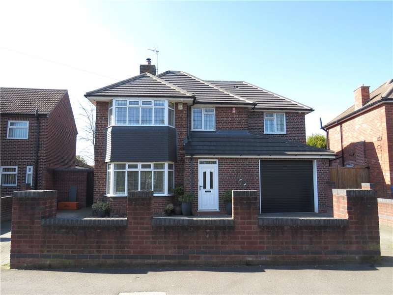 4 Bedrooms Detached House for sale in Greenwich Drive North, Derby, Derbyshire, DE22