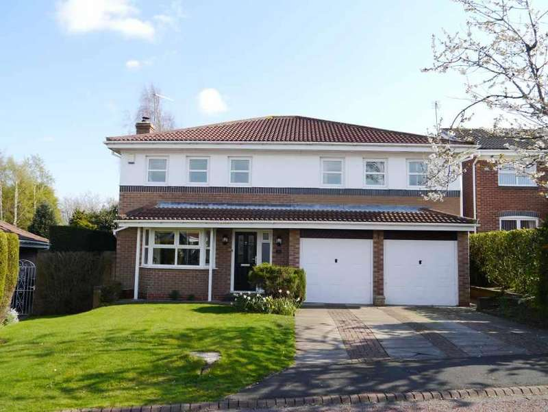 5 Bedrooms Detached House for sale in Bracken Way, Crawcrook, Ryton