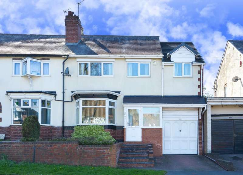 4 Bedrooms Semi Detached House for sale in Moat Road, Oldbury, B68