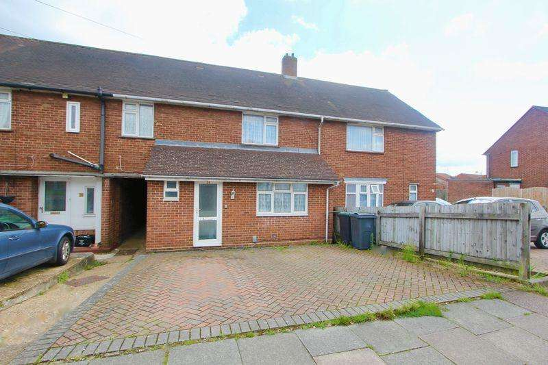 3 Bedrooms Terraced House for sale in Felmersham Road, Luton