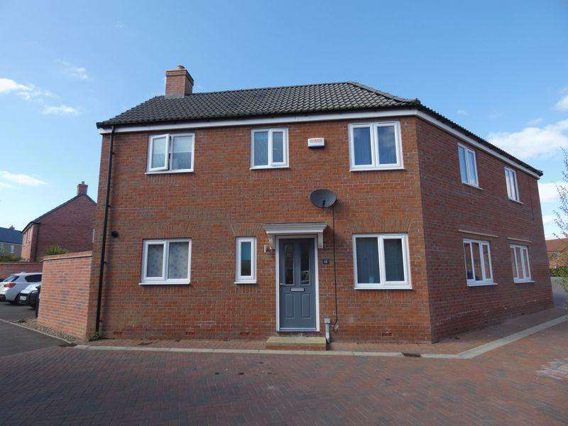 3 Bedrooms Semi Detached House for sale in Honeysuckle Road, Witham St Hughs