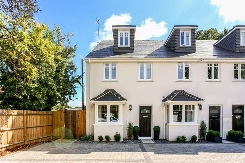 4 Bedrooms End Of Terrace House for sale in The Clockhouse, Ascot
