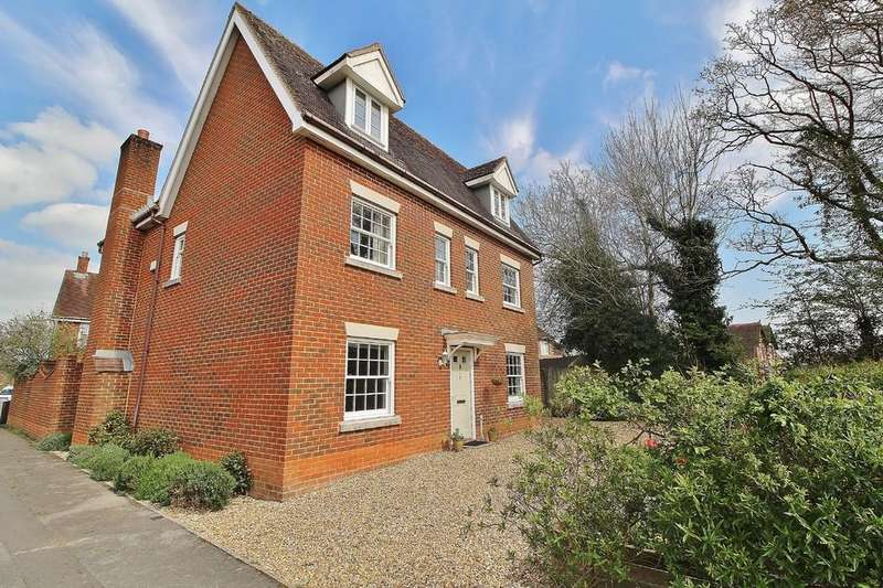 5 Bedrooms Detached House for sale in Hatchmore Road, Denmead, Waterlooville