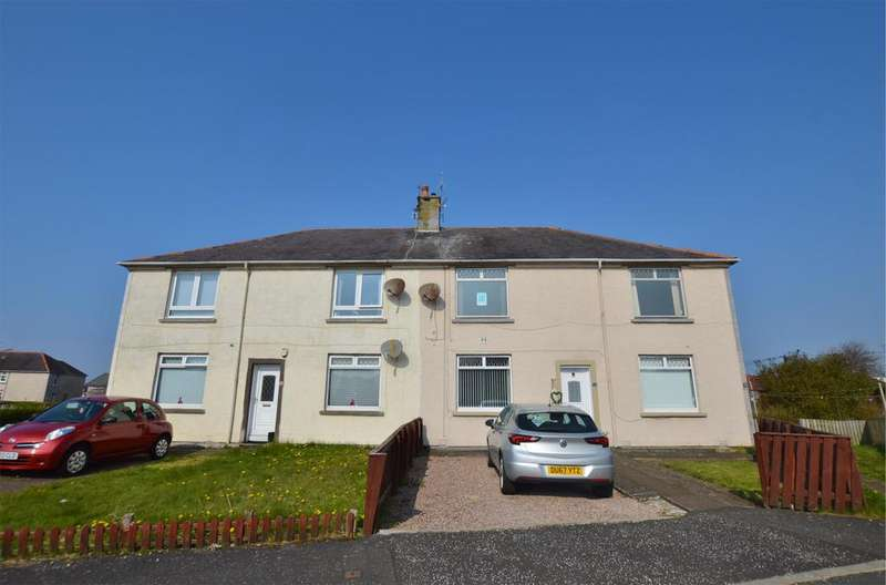 2 Bedrooms Flat for sale in 35 Christie Gardens, Saltcoats, KA21 5NQ