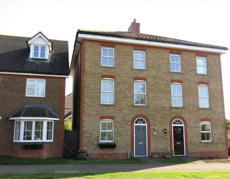 3 Bedrooms Town House for sale in Harrier Mill, , Henlow, SG16