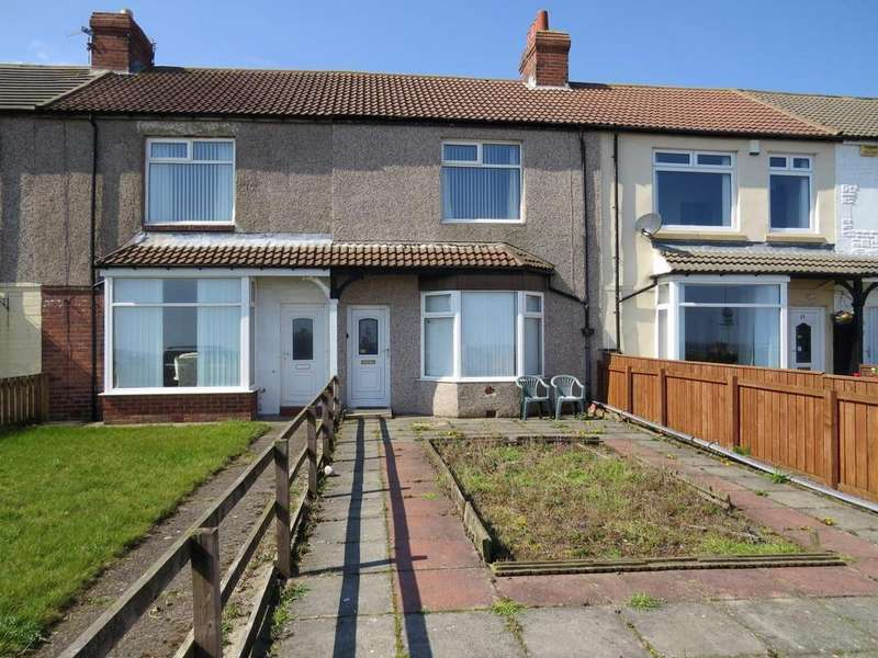 2 Bedrooms Terraced House for sale in Beach Terrace, Newbiggin-By-The-Sea
