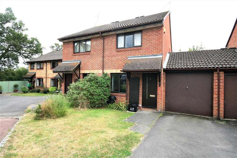 2 Bedrooms Semi Detached House for sale in Harrison Close, Twyford, Reading