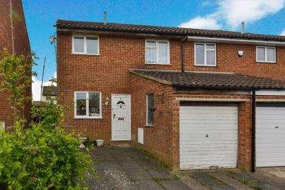 3 Bedrooms Semi Detached House for sale in Naseby Court, Bradville, Milton Keynes, Buckinghamshire