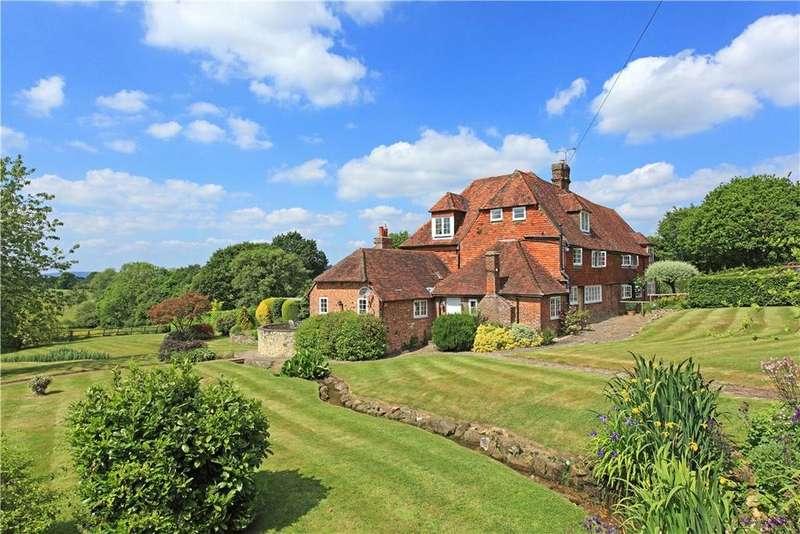 4 Bedrooms Farm House Character Property for sale in Coopers Lane, Penshurst, Nr Tonbridge, Kent, TN11