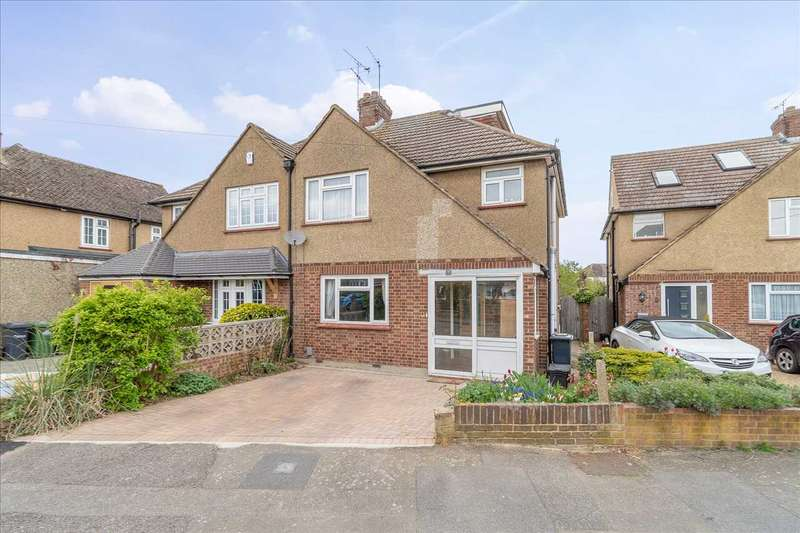 5 Bedrooms Semi Detached House for sale in Cranbourne Drive, Hoddesdon
