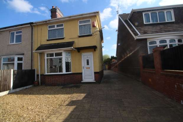 3 Bedrooms Semi Detached House for sale in St. Saviours Street, Talke, Staffordshire, ST7 1LR