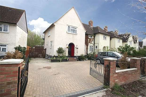 3 Bedrooms End Of Terrace House for sale in Nightingale Way, Baldock, Hertfordshire