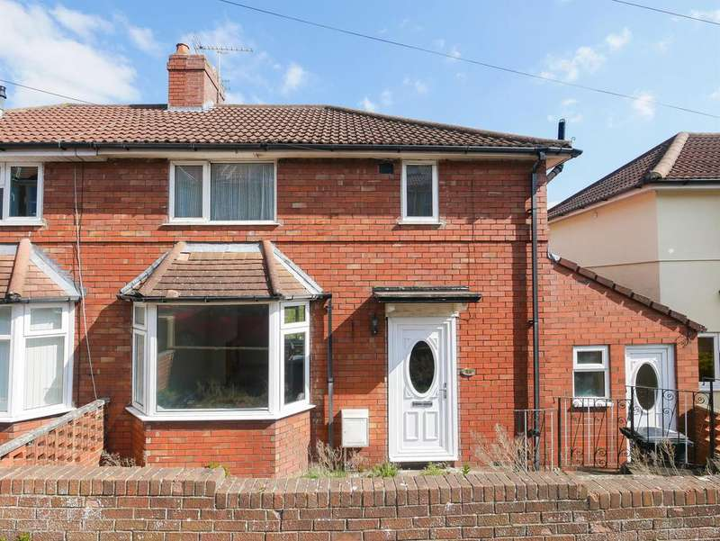 3 Bedrooms Semi Detached House for sale in Jubilee Road, Knowle, Bristol, BS4 2LR