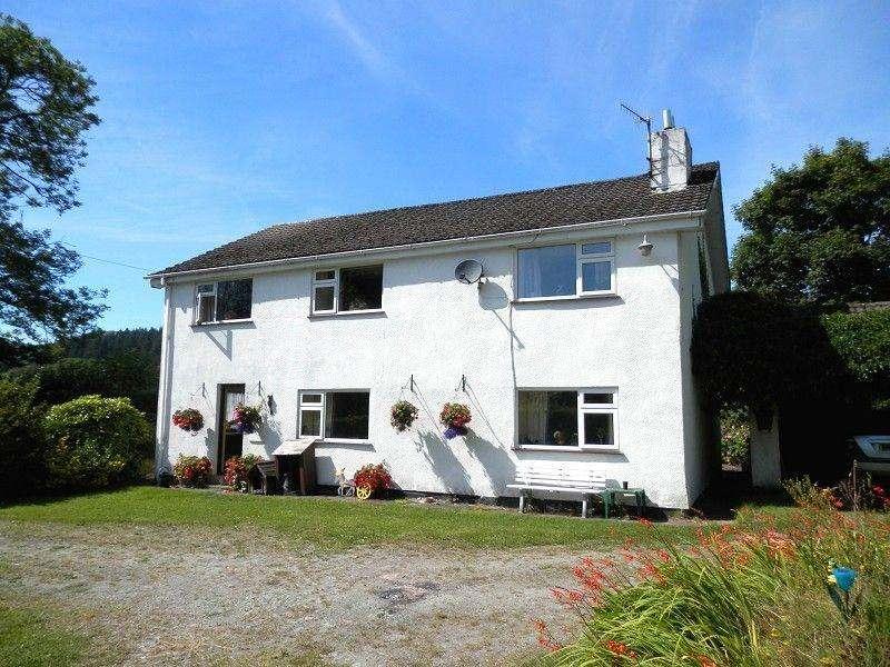 5 Bedrooms Detached House for sale in Rhandirmwyn, Llandovery, Carmarthenshire.