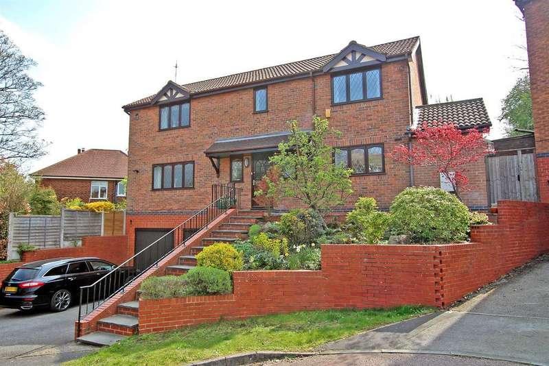 4 Bedrooms Detached House for sale in Weston Close, Woodthorpe, Nottingham