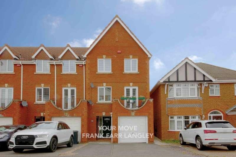 4 Bedrooms Property for sale in Grasholm Way, Langley, Slough, SL3