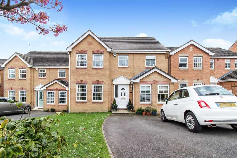4 Bedrooms Detached House for sale in Great Oaks Park, Rogerstone, Newport, NP10