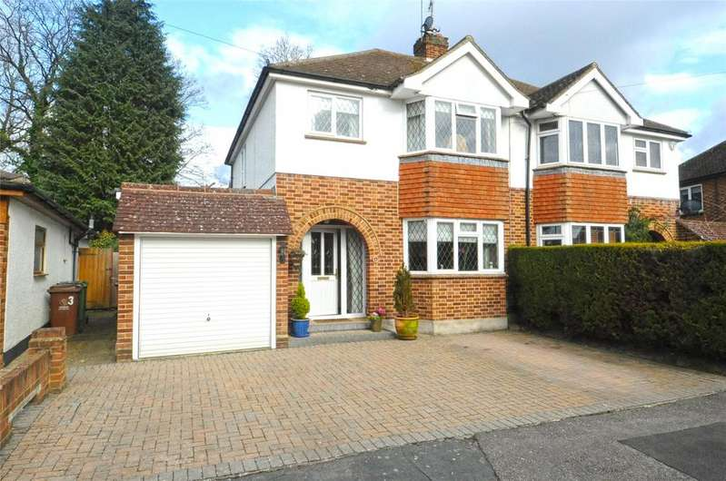 3 Bedrooms Semi Detached House for sale in Camberley, Surrey, GU15
