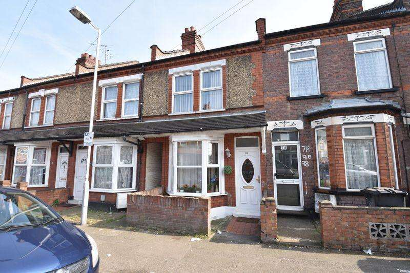 2 Bedrooms Terraced House for sale in Saxon Road, Luton