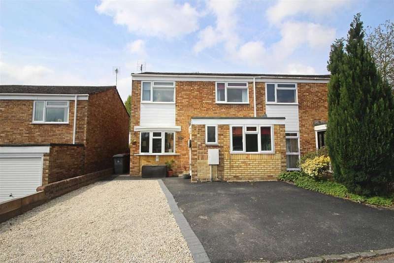 3 Bedrooms Semi Detached House for sale in Ibstone Avenue, Caversham, Reading