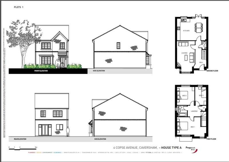 Land Commercial for sale in Copse Avenue, Caversham