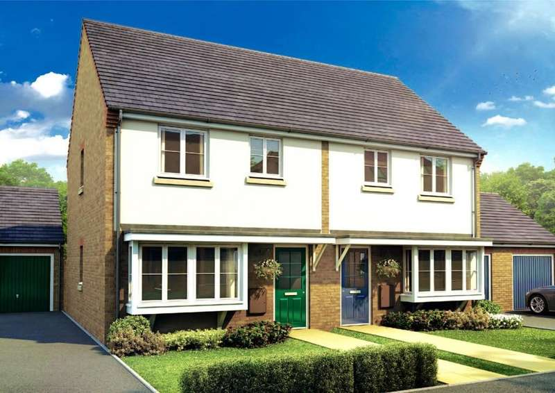 3 Bedrooms Semi Detached House for sale in Plot 39 The Winthorpe, Pinchbeck Fields, Spalding