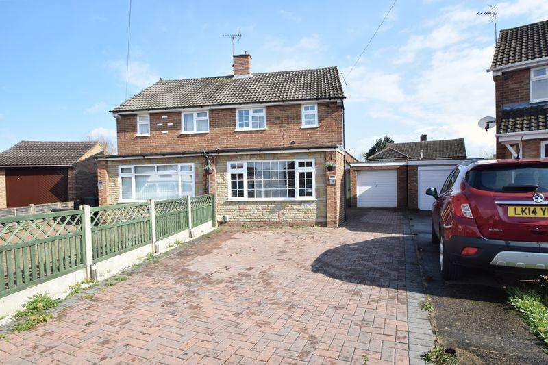 2 Bedrooms Semi Detached House for sale in Eastcott Close, Luton