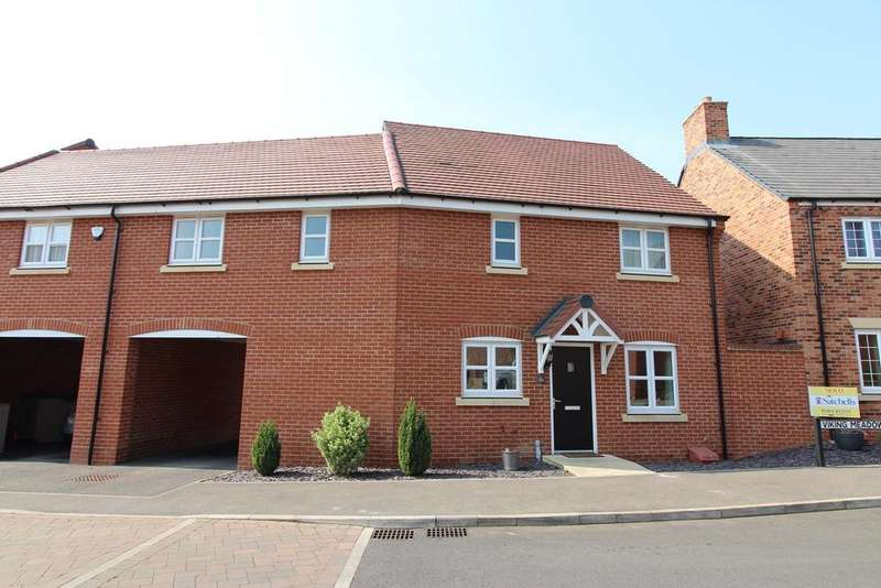 4 Bedrooms Link Detached House for sale in Viking Meadow, Shefford, SG17