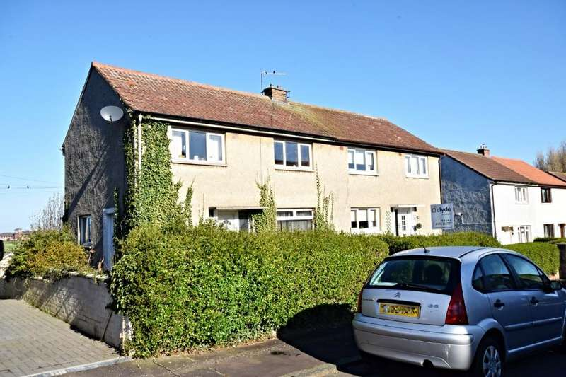 3 Bedrooms Semi Detached House for sale in Dunlop Terrace, Ayr, South Ayrshire , KA8 0SP