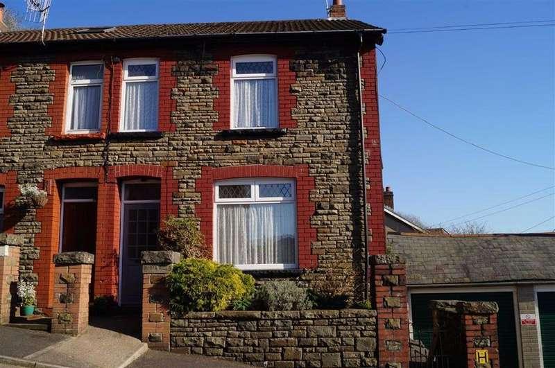 3 Bedrooms Semi Detached House for sale in Aberffrwd Road, Caegarw