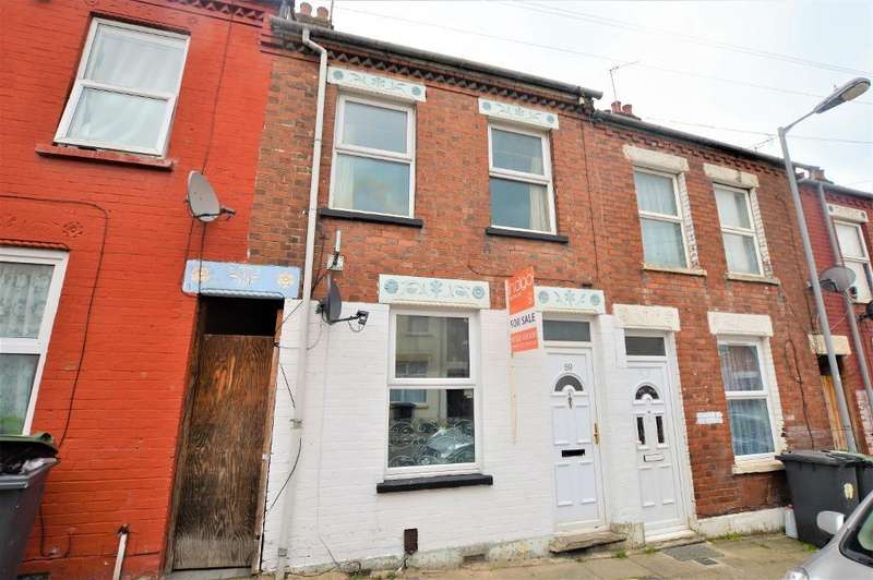3 Bedrooms Terraced House for sale in Warwick Road West, Bury Park, Luton, Bedfordshire, LU4 8BJ