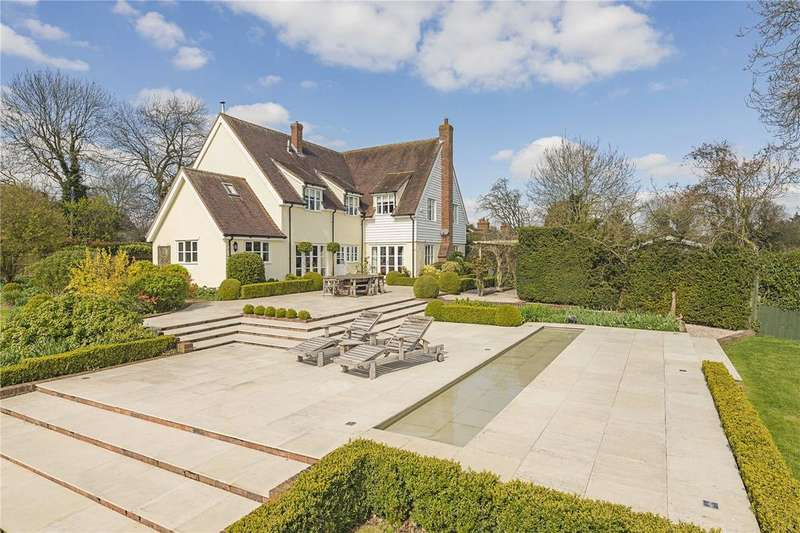 4 Bedrooms Detached House for sale in Smiths End Lane, Barley, Royston, Hertfordshire, SG8