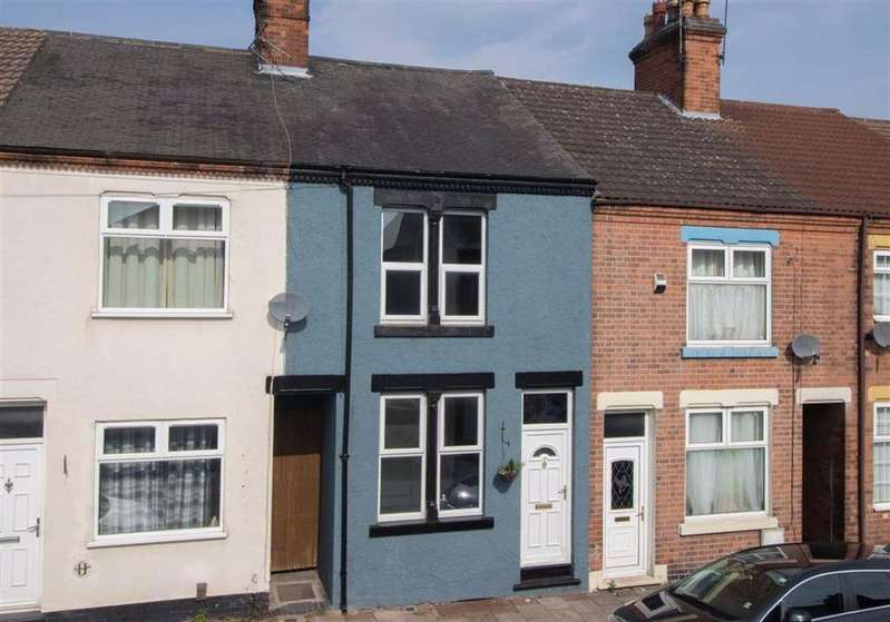 2 Bedrooms Terraced House for sale in Judges Street, Loughborough, LE11