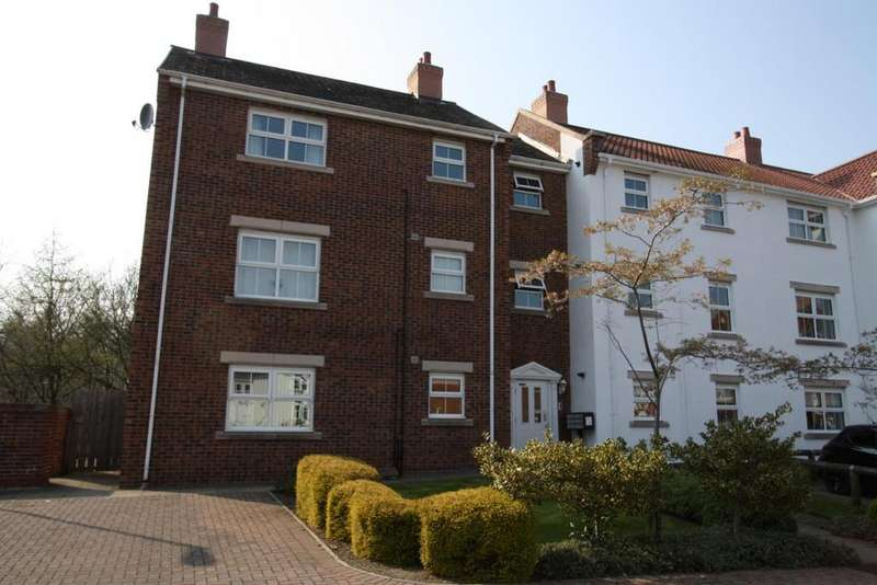 2 Bedrooms Apartment Flat for sale in Bouch Way, Barnard Castle