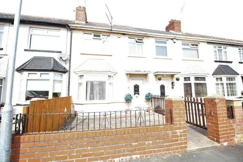 3 Bedrooms Terraced House for sale in Frobisher Road, Newport