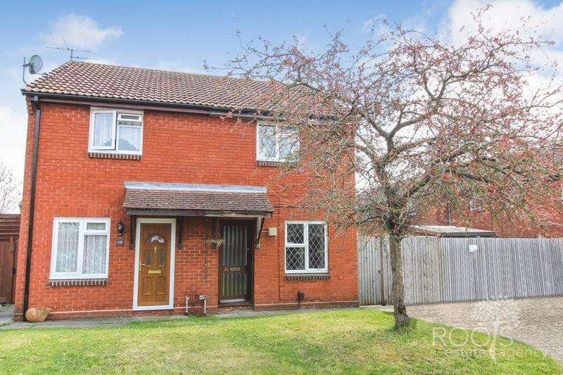 3 Bedrooms Semi Detached House for sale in Brent Close, Thatcham