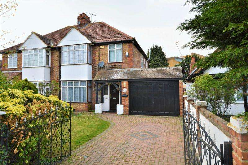 3 Bedrooms Semi Detached House for sale in Hill Rise, Langley, Slough SL3